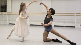 The Royal Ballet rehearse The Nutcracker