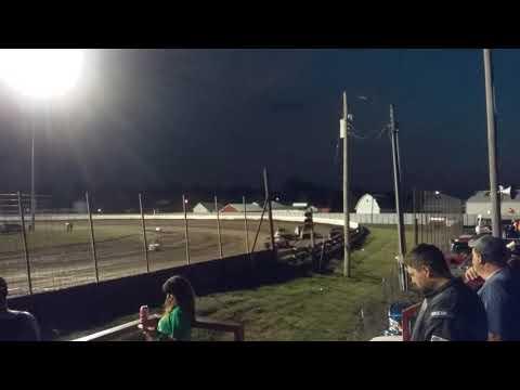 Lee County Speedway - Heat Race - 8/18/17