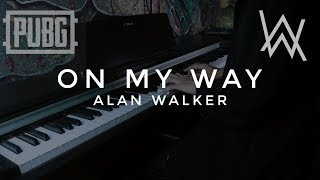 On My Way - Alan Walker, Sabrina Carpenter, Farruko Cover Piano by Adi