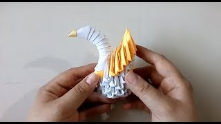 Tutorial Mini Cisne Origami 3D