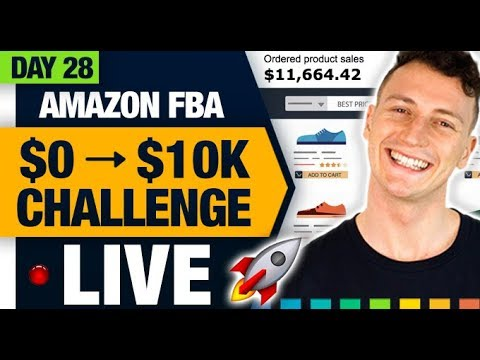 AMAZON FBA $10,000 CHALLENGE 🚀 (Day 28) Creating Coupons and Promotions to Skyrocket our BSR!