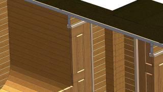 видео строим хозблок на даче своими