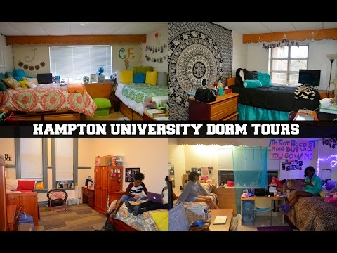 Hampton U Freshman Female Dorms (Twitchell, Moton & V.C Suites)