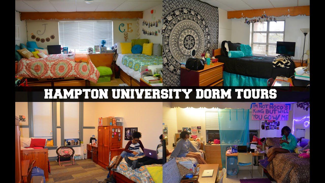 hampton u freshman female dorms twitchell moton u0026 v c suites