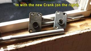 Jalousie Window Repair Crank Operator