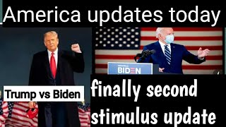 America update today all highlights news Trump Vs Biden .Trump stimulus deal offer. Explains all .