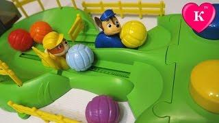 Щенячий патруль ИГРА Гонки щенков Paw Patrol Игры и развлечение для детей