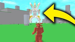 THE BIGGEST MONSTER IN GODZILLA SIMULATOR (Roblox)