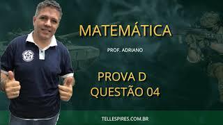 Resolução de Matemática EsPCEx - Questões 01 a 10 - Professor Adriano