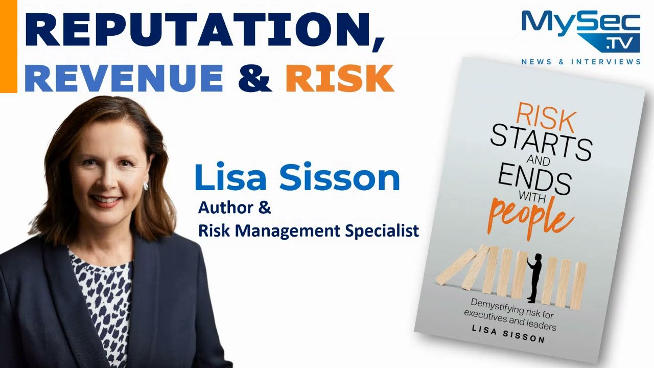 Reputation, Revenue & Risk - Author Interview with Lisa Sisson