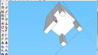 Видеоурок SketchUP 4 урок приемы создания 3D объектов