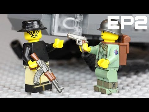 LEGO Battlefield Vietnam: Building The Tet Offensive In LEGO: EP2 - Huey Helicopter Layout