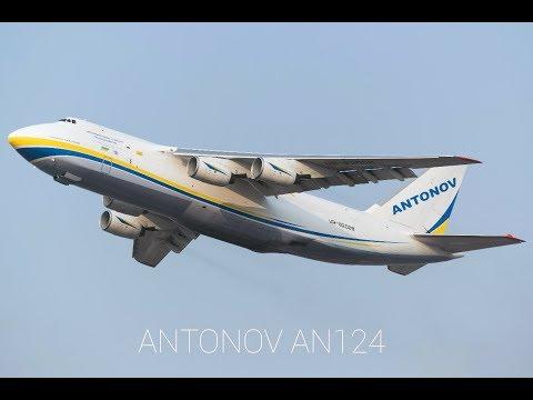 Rare Beast !! Antonov Design Bureau AN-124-100M departure from Mumbai!
