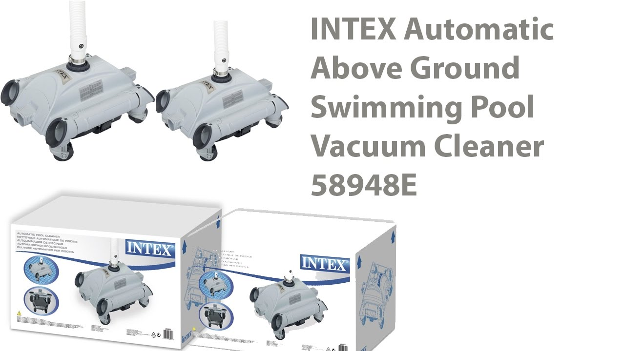 INTEX Automatic Above Ground Swimming Pool Vacuum Cleaner Review ...