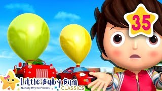 Balloon Race Song | Little Baby Bum | Baby Songs & Nursery Rhymes | Learning Songs For Babies