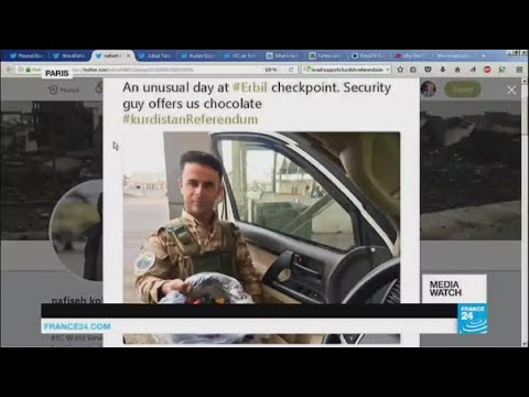Online reactions to Kurdish referendum