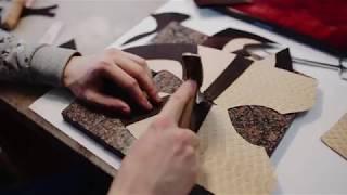 УРОК 5 – КЕДЫ. ОБРАБОТКА ДЕТАЛЕЙ ВЕРХА И ПОДКЛАДКИ. СБОРКА ЗАГОТОВКИ.  Ручное изготовление обуви.