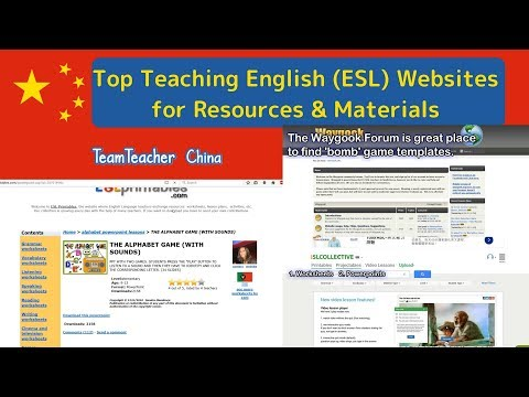 Top Free Teaching English (ESL) Websites for Resources & Materials