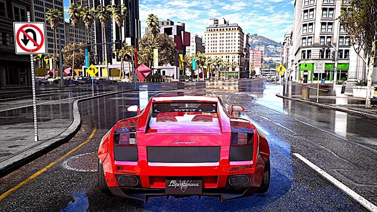 E  Bbgta  Ultra Realistic Graphics K Fps Redux M V G A Gta  Pc Mod