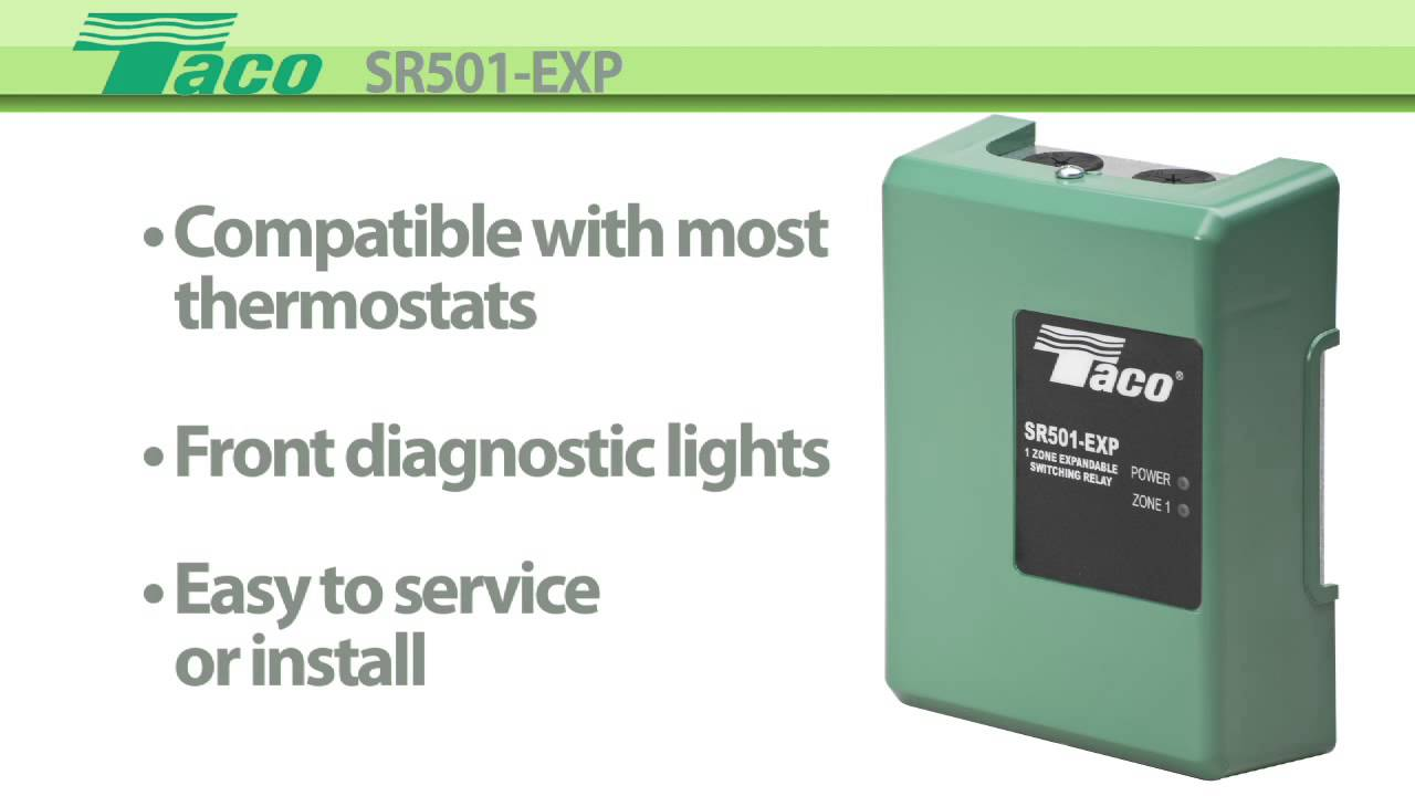Enhanced Switching Relay Sr501-exp