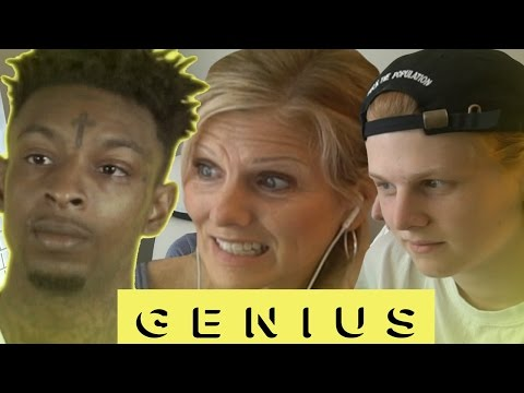 Mom reacts to 21 Savage