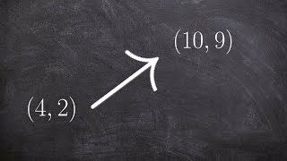 Learn how to write a vector in component form given two points and ...