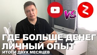 В Ютуб или Яндекс Дзен? Какой блог начинать вести для заработка денег в 2019? Итоги 9 недели в Дзен