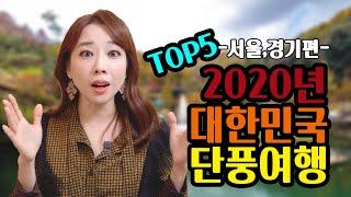 """서울/경기 단풍여행지 추천 TOP5 """"2020…"""