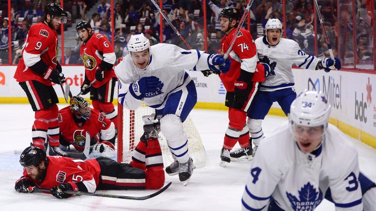 Watch all 4 of Auston Matthews' goals in NHL debut