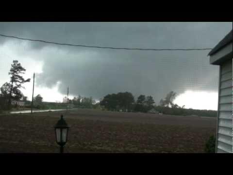 Deadly Tornado Colerain, NC Bertie County video 1