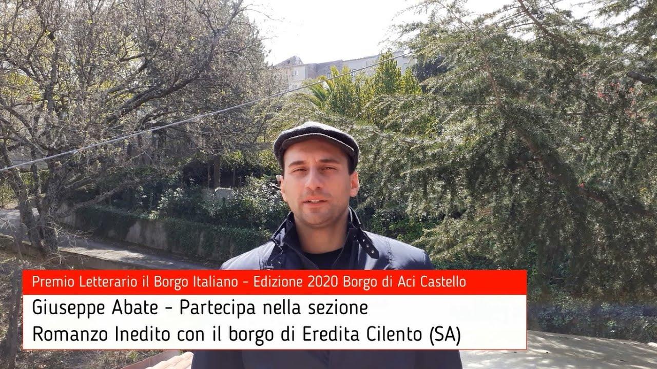 Giuseppe Abate per Eredita Cilento su Premio Letterario il Borgo Italiano TV