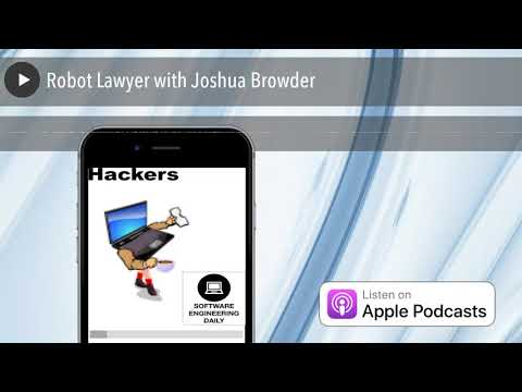 Robot Lawyer with Joshua Browder