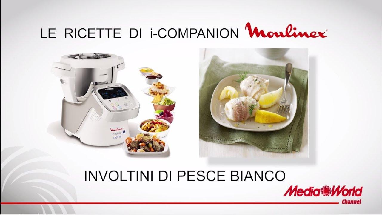 Ricette Moulinex I Companion Involtini Di Pesce Youtube