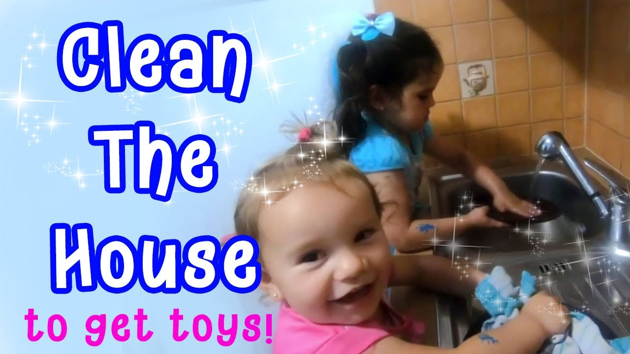 Rihanna and Sajra Clean The House to get toys