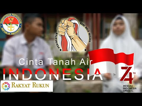 #rakyatrukun #belanegara #cintatanahairIndonesia Cinta Tanah Air : Indonesia