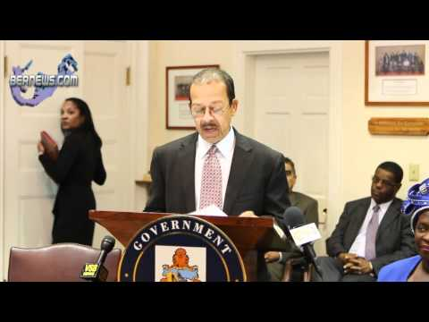 Deputy Premier and Minister Derrick Burgess' Post Throne Speech Address
