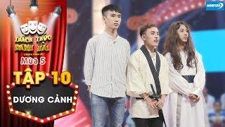 Thách thức danh hài 5|Tập 10: Trấn Thành Trường Giang cười xỉu khi bị đạo sĩ đuổi khỏi ghế giám khảo