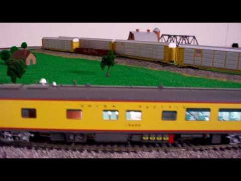Review of my Overland Models Track Inspection Car Idaho HO scale UP