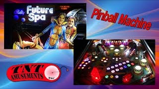 Bally FUTURE SPA Pinball Machine & PLAY Features! - TNT Amusements #1069