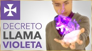 Decreto para atraer la llama violeta - Yo Soy Espiritual