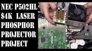NEC NP-P502HL Laser Phosphor 5K lumen 1080p projector repair