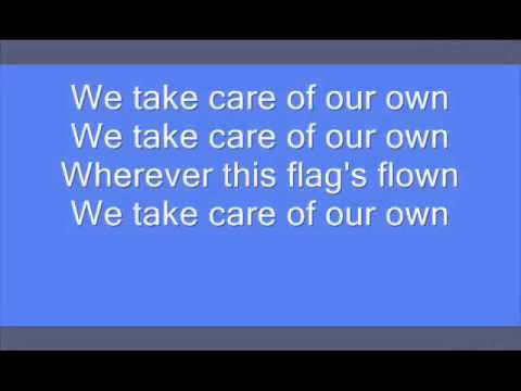 Bruce Springsteen - We Take Care Of Our Own (Lyrics)