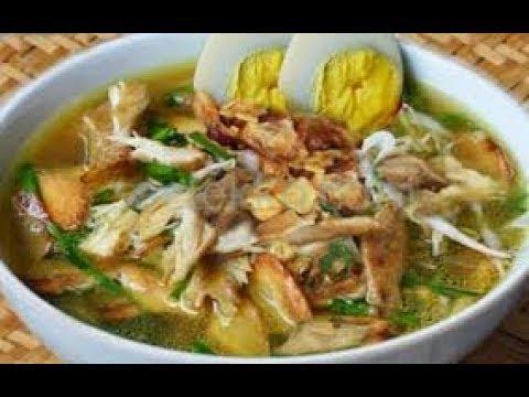Resep Soto Ayam Spesial Sedap Mantap Dan Mudah Masakan Untuk Hari Lebaran