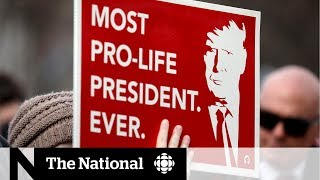 Trump fires up base at anti-abortion rally