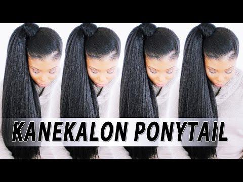 $5-high-ponytail-w/-kanekalon-braiding-hair!
