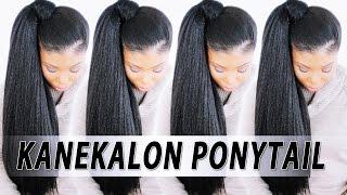 $5 High Ponytail w/ KANEKALON BRAIDING HAIR!