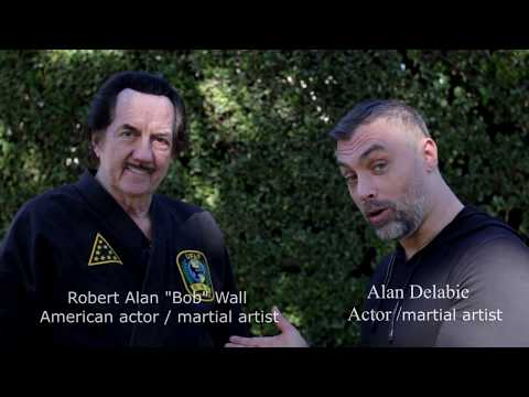 "interview Bob Wall  ""Enter the dragon"" & Alan delabie"