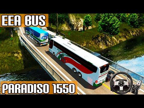 Euro Truck Simulator 2 - Engarrafamento na Serra com Paradiso 1550