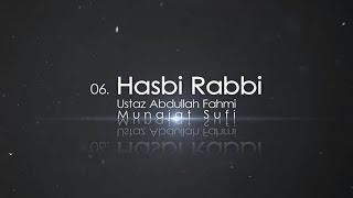 Gambar cover Ustaz Abdullah Fahmi - Hasbi Rabbi (Official Video)