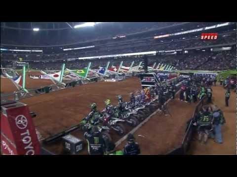 2012 AMA Supercross Rd 8 Atlanta  Part 2